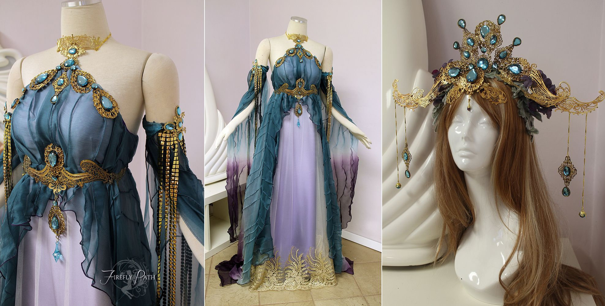 Empress of the Elves by Lillyxandra wedding ballroom gown