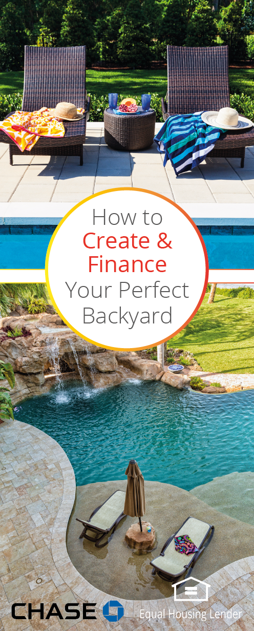 Looking To Make A Splash This Summer By Finally Adding In That Pool Learn How To Complete This And Other Backyard Proj Backyard Projects Backyard Backyard Fun