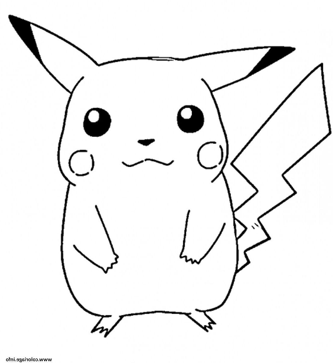 Pikachu S Free46ba Coloriage Dessin Pikachu Character