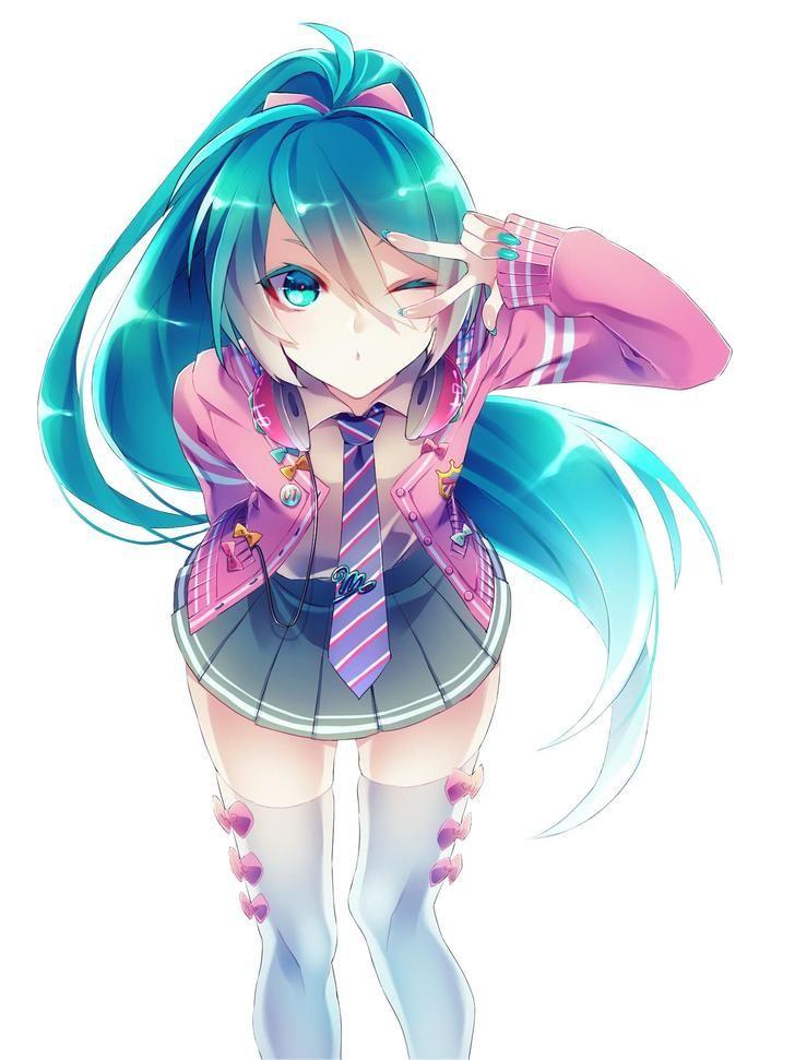 Imgur The Most Awesome Images On The Internet Anime Hatsune Miku Kawaii Anime