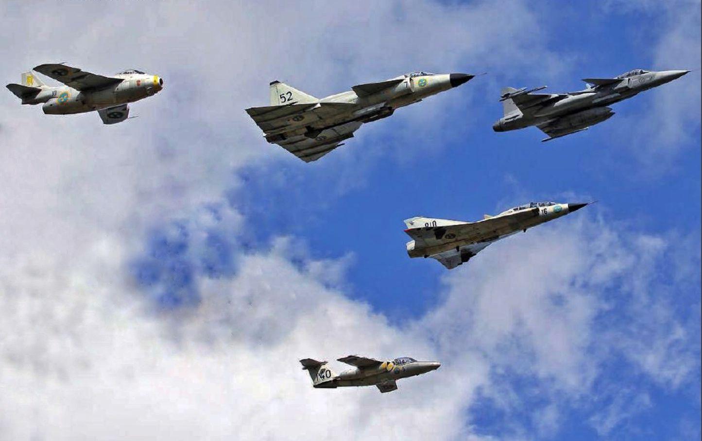 Swedish fighters