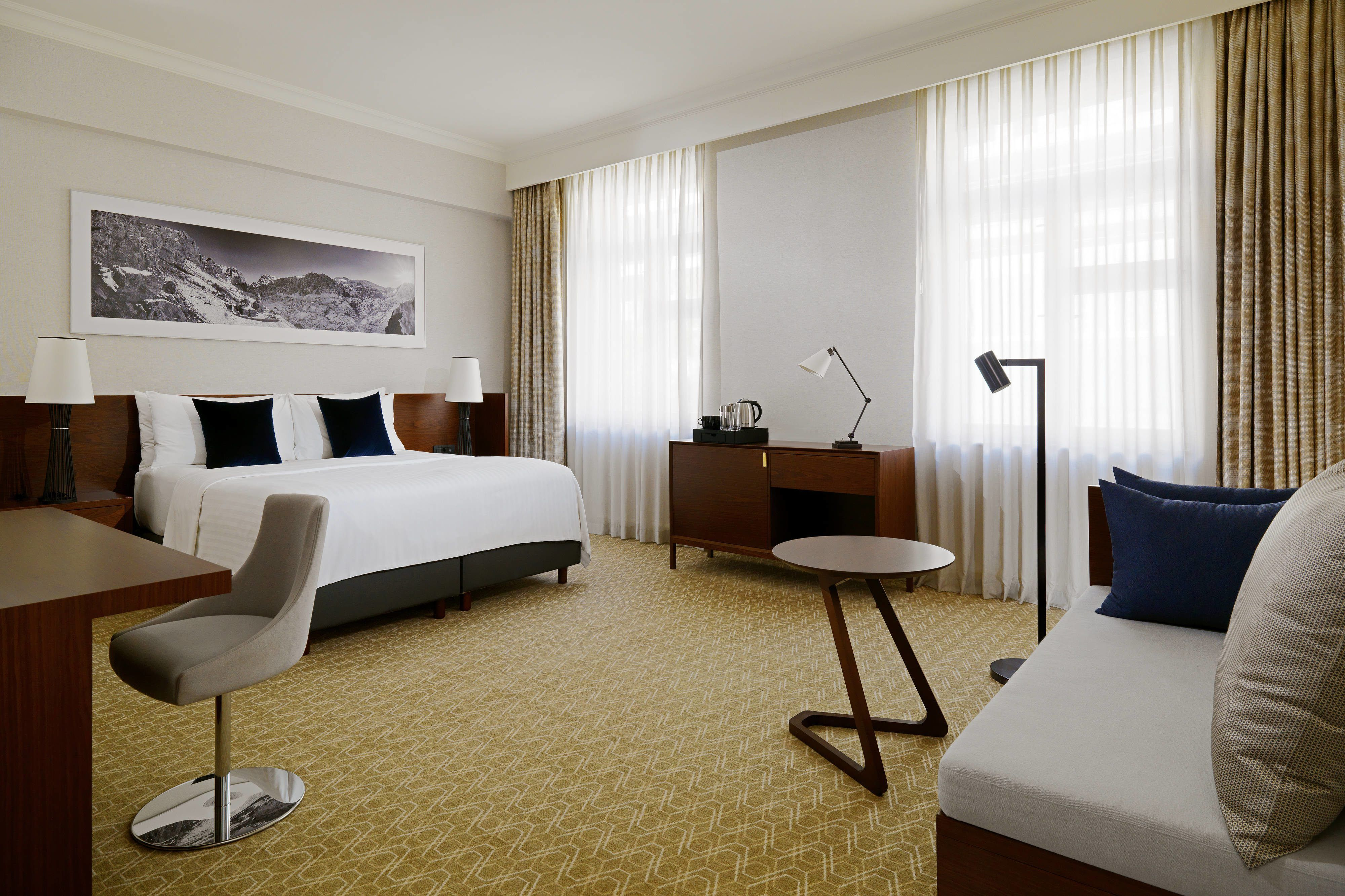 Armenia Marriott Hotel Yerevan Superior Deluxe King Guest Room Holiday Beautiful Rooms Marriott Hotels Luxury Accommodation Hotel