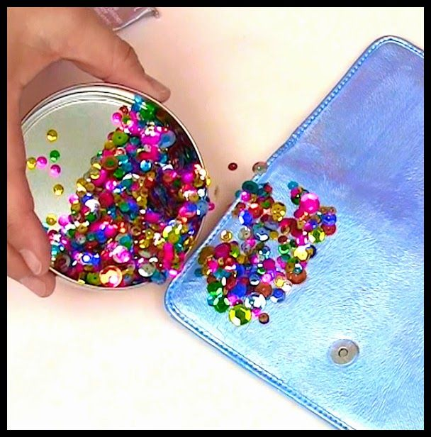 Mark Montano: Sequin Bag Upstyle!