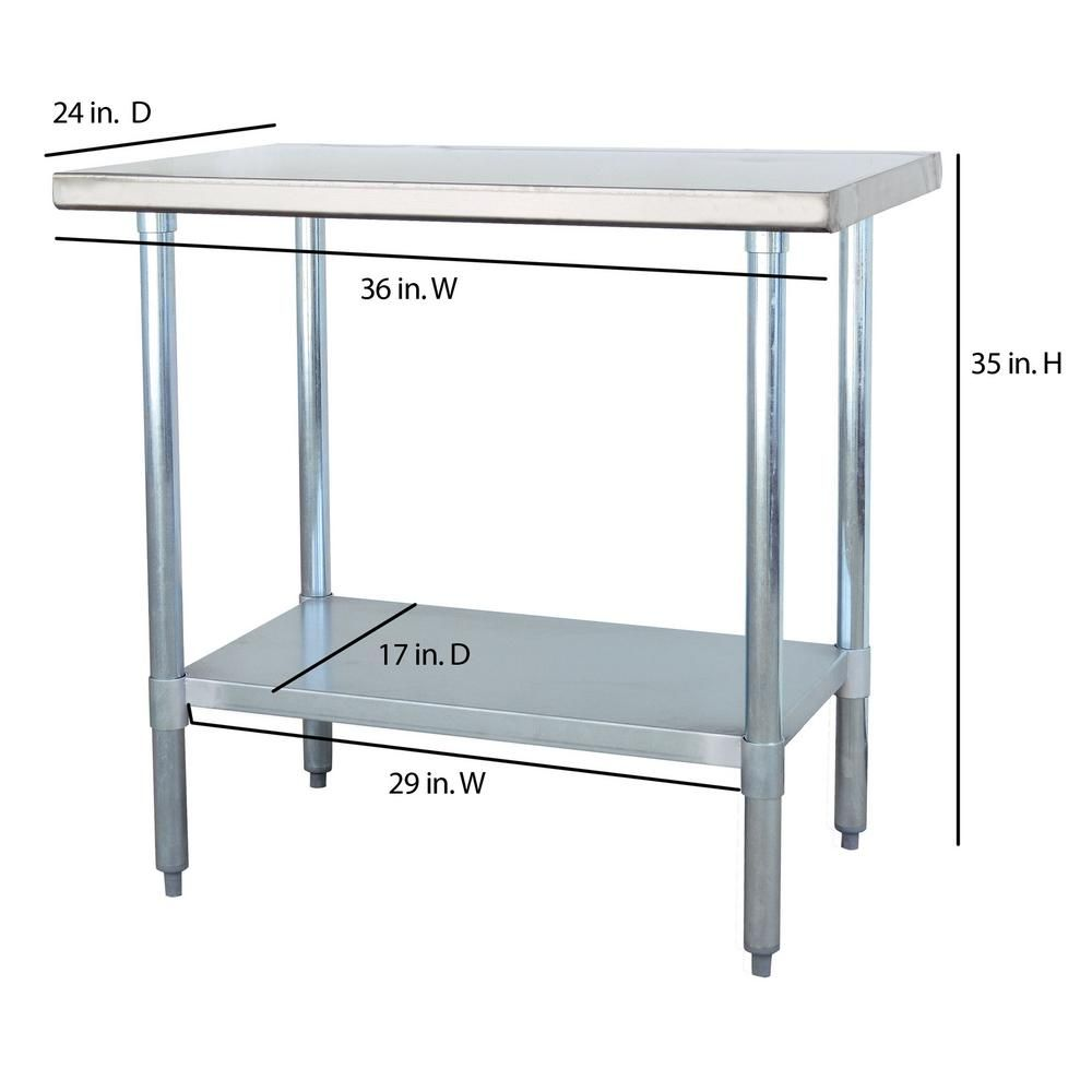 Sportsman Stainless Steel Kitchen Utility Table | BUiLDiNG A DReAM ...