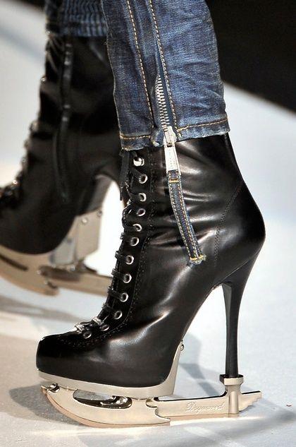 ICE High Heel Stiefelette black