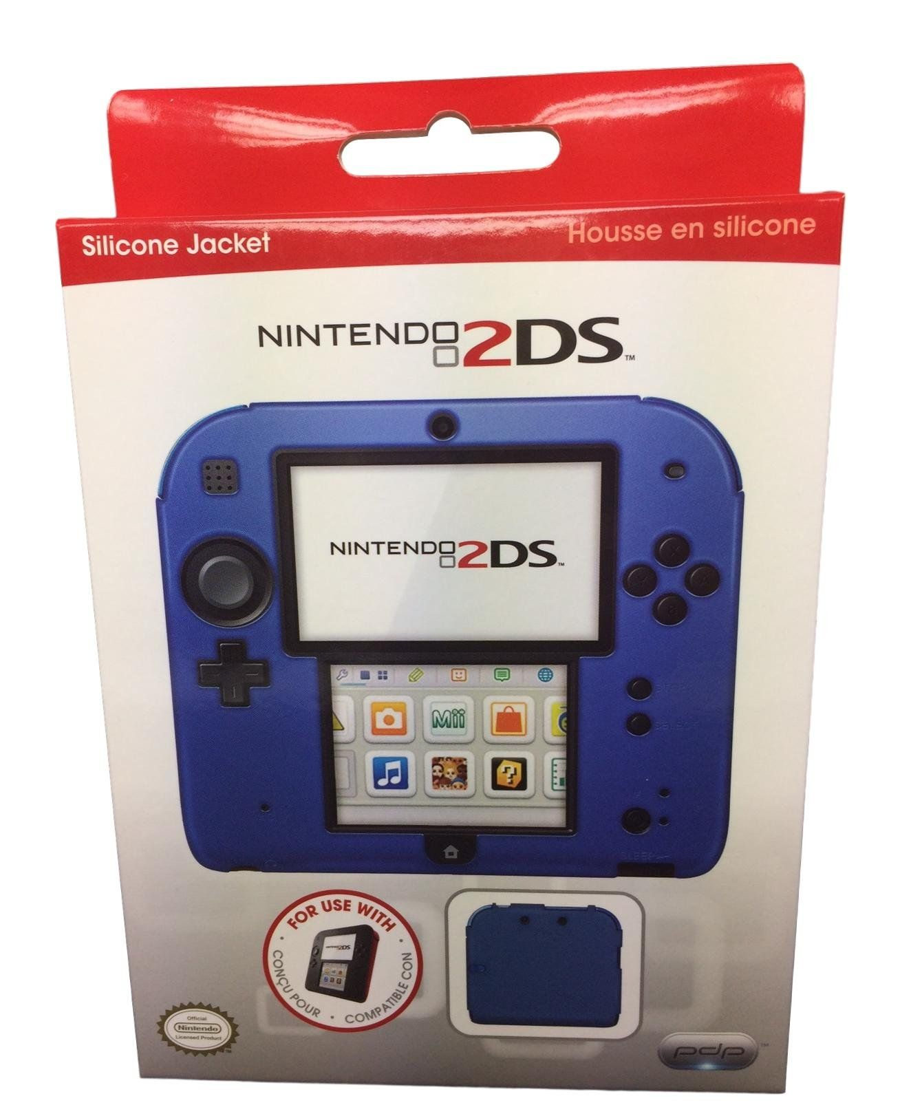 brand new f4059 10003 PDP Silicone Case/cover for Nintendo 2DS Blue * Much more ...