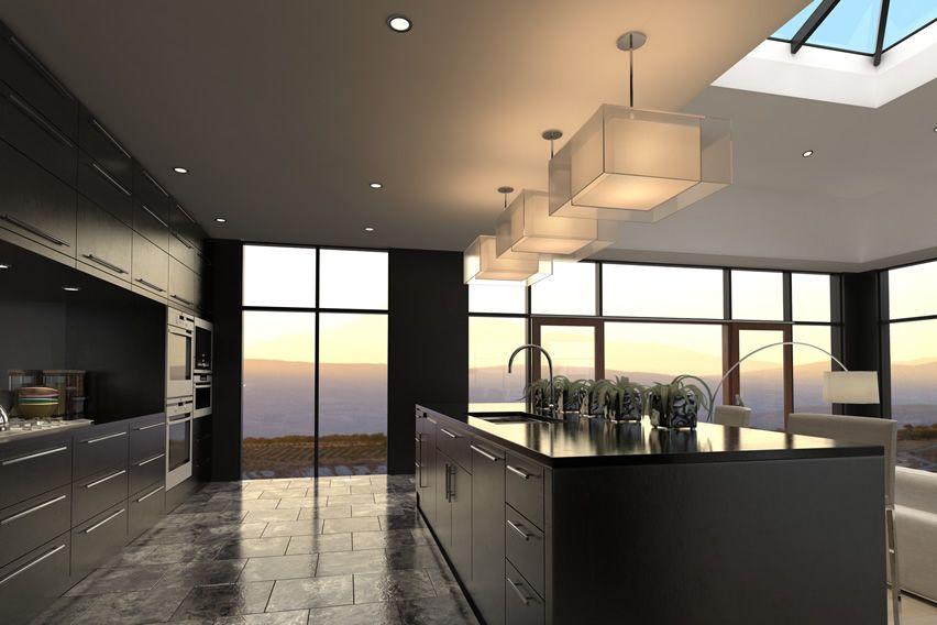 75 modern kitchen designs (photo gallery)   black kitchens