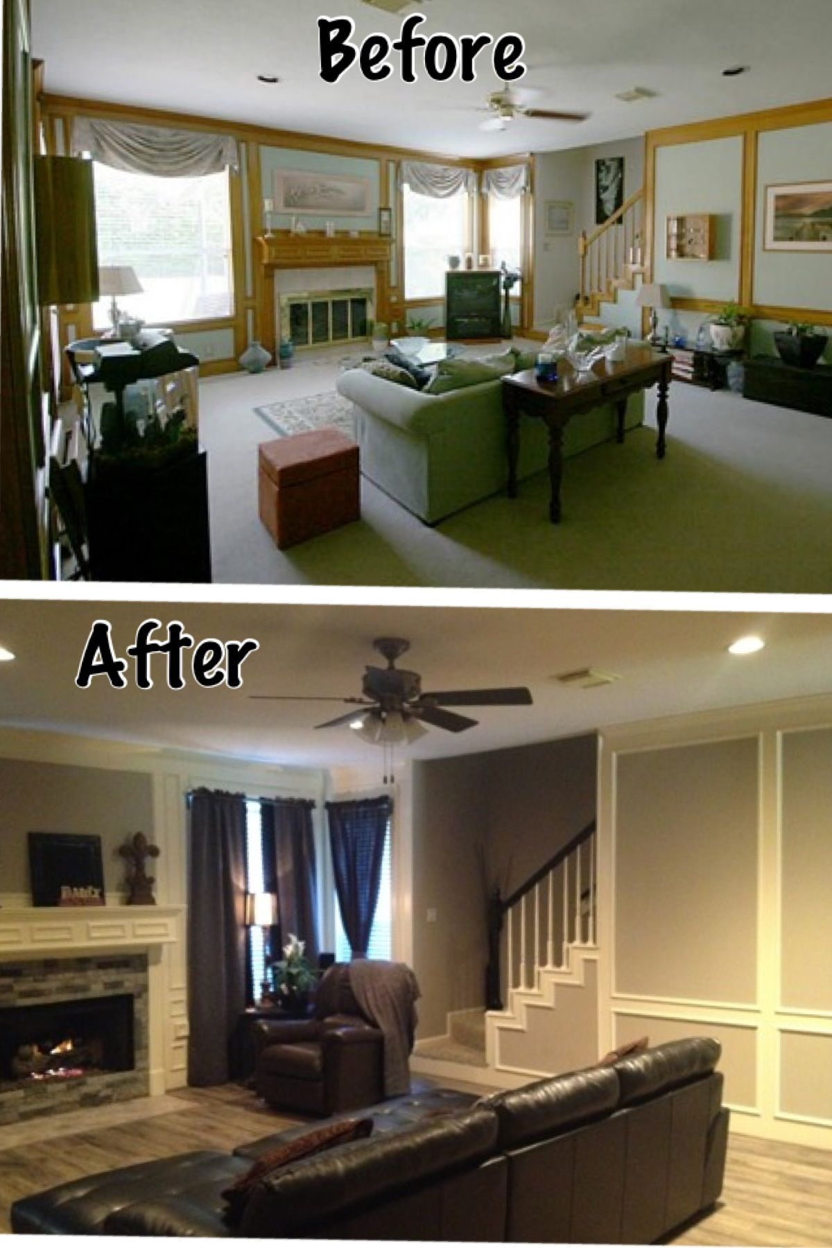 1980's living room remodel 6 genius steps to remodeling your space #homestagingavantapres