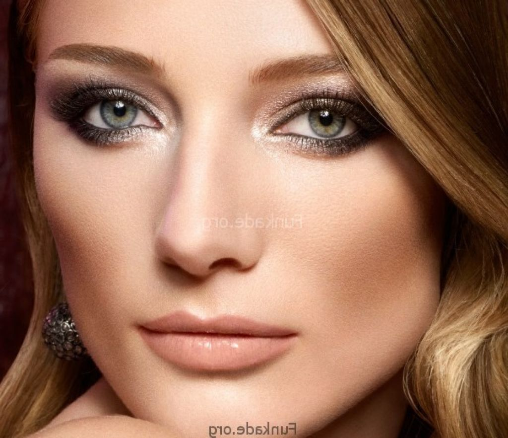 brown hair colors for pale skin | charming wedding makeup