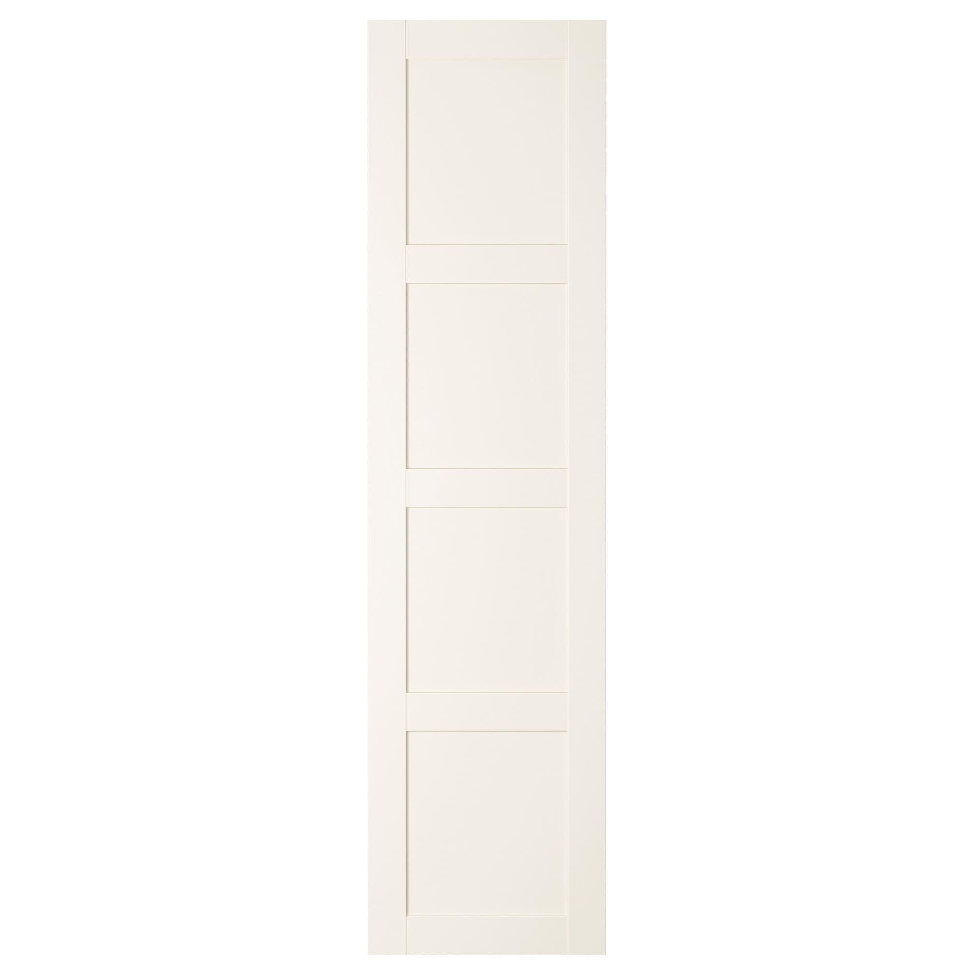 Ikea Bergsbo White Door With Hinges In 2020 Hinged Wardrobe