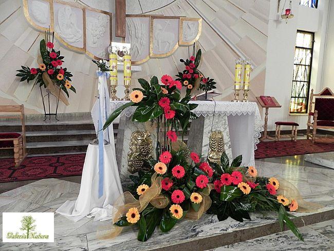 Www Galerianatura Net Tl Files Galeria Natura Kosciol 20specjalne 20okazje Bierzmowanie Jpg Altar Decorations Flower Arrangements Altar Flowers