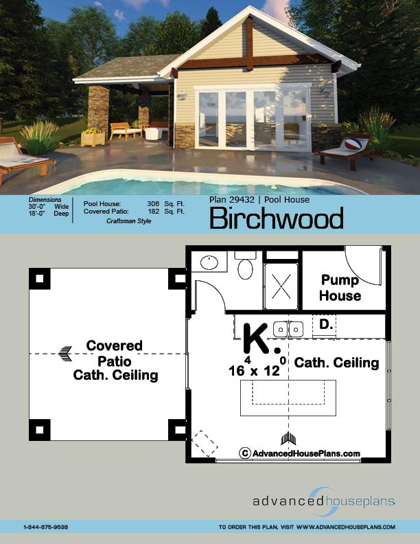 Pool House Plan Birchwood Pool House Plans Pool House Designs