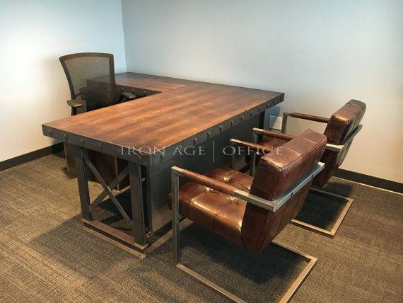 Merveilleux Hybrid Executive Office Desk   L Shape