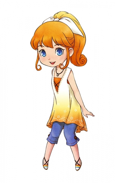 Story of Seasons Friends of Mineral Town Ann Mario