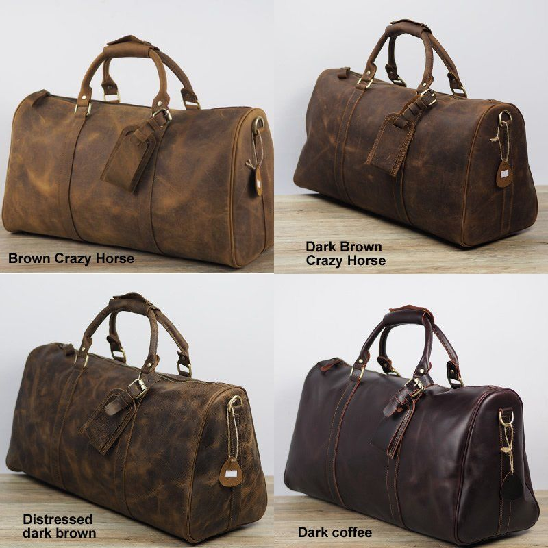 052a1bd2b3e Handmade Vintage Leather Duffle Bag   Travel Bag   Luggage   Gym Bag   Weekend  Bag All Hand Stitched. Very rigorous finishes, excellent choice of.