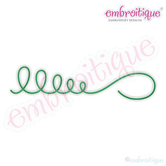 Embroitique: Bradley Accent 1- Embellishment Embroidery Design File-Instant Download