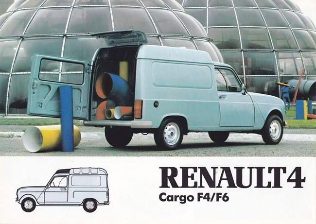 Renault 4 Cargo F4/F6, 1985
