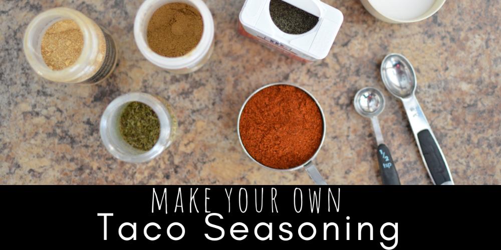 DIY Taco Seasoning » SoulyRested