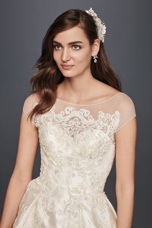 222072e031533 Royalty. That\'s what you\'ll exude in this elegant, poised mikado ball gown,  which was inspired by none other than … | Amy's wedding: how i imagine it