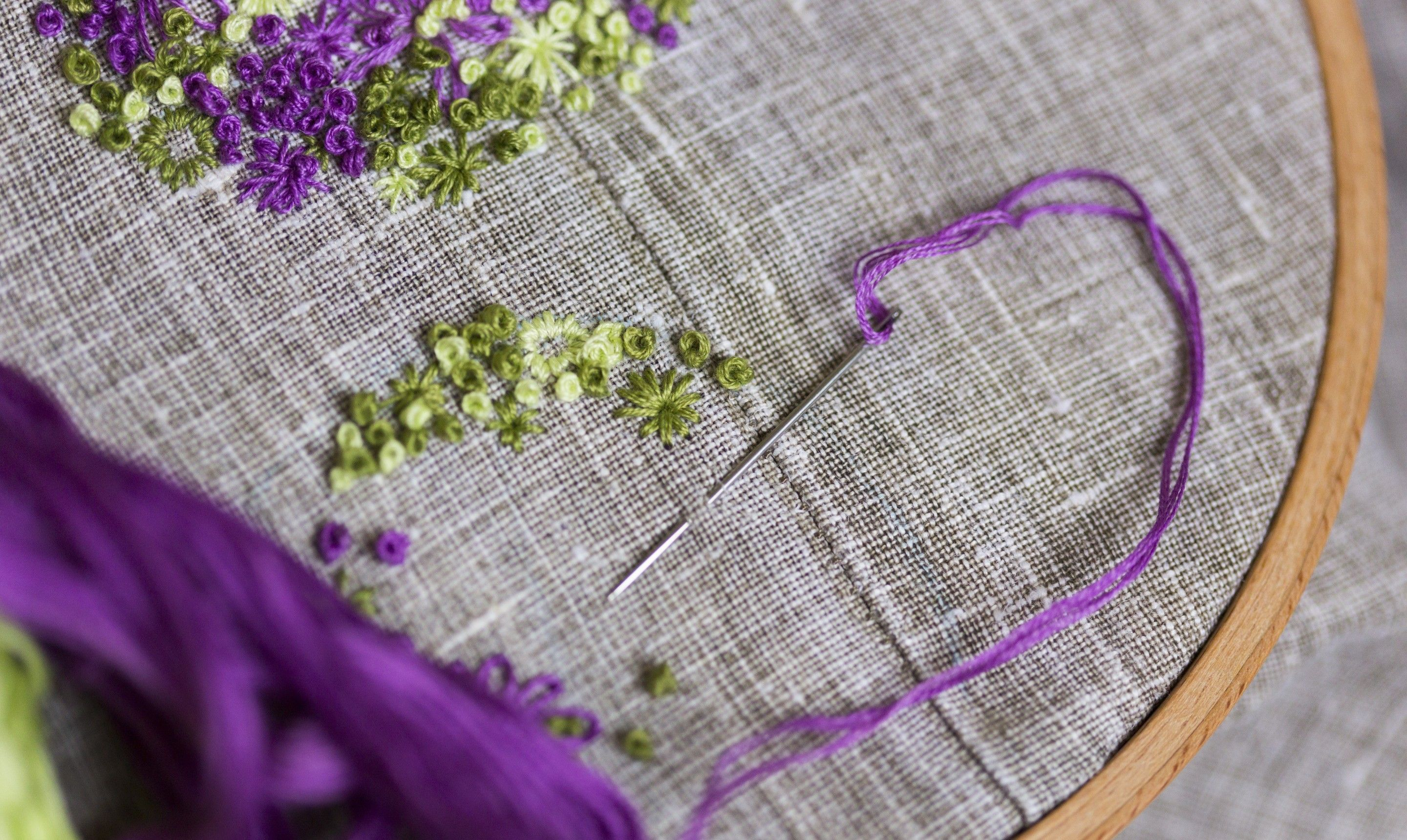 How to make a french knot free tutorial helpful tips