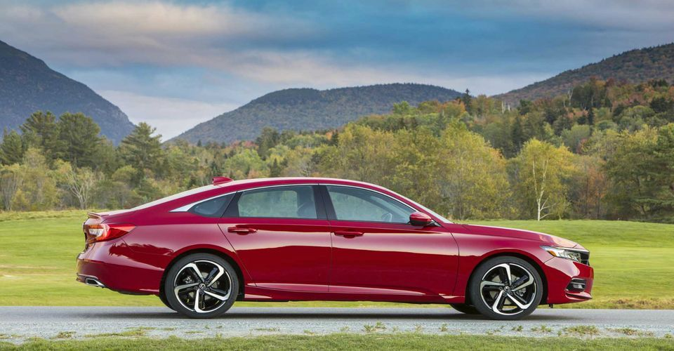 The toprated performance in 2020 Honda accord touring