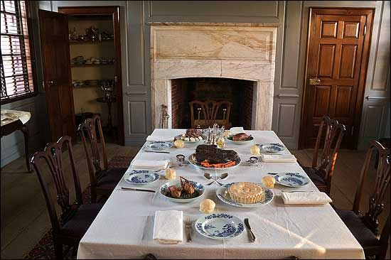 Williamsburg Va Colonial Recepies