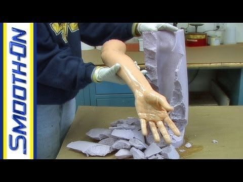 Lifecasting Tutorial: How to Make a Mold of Your Arm with