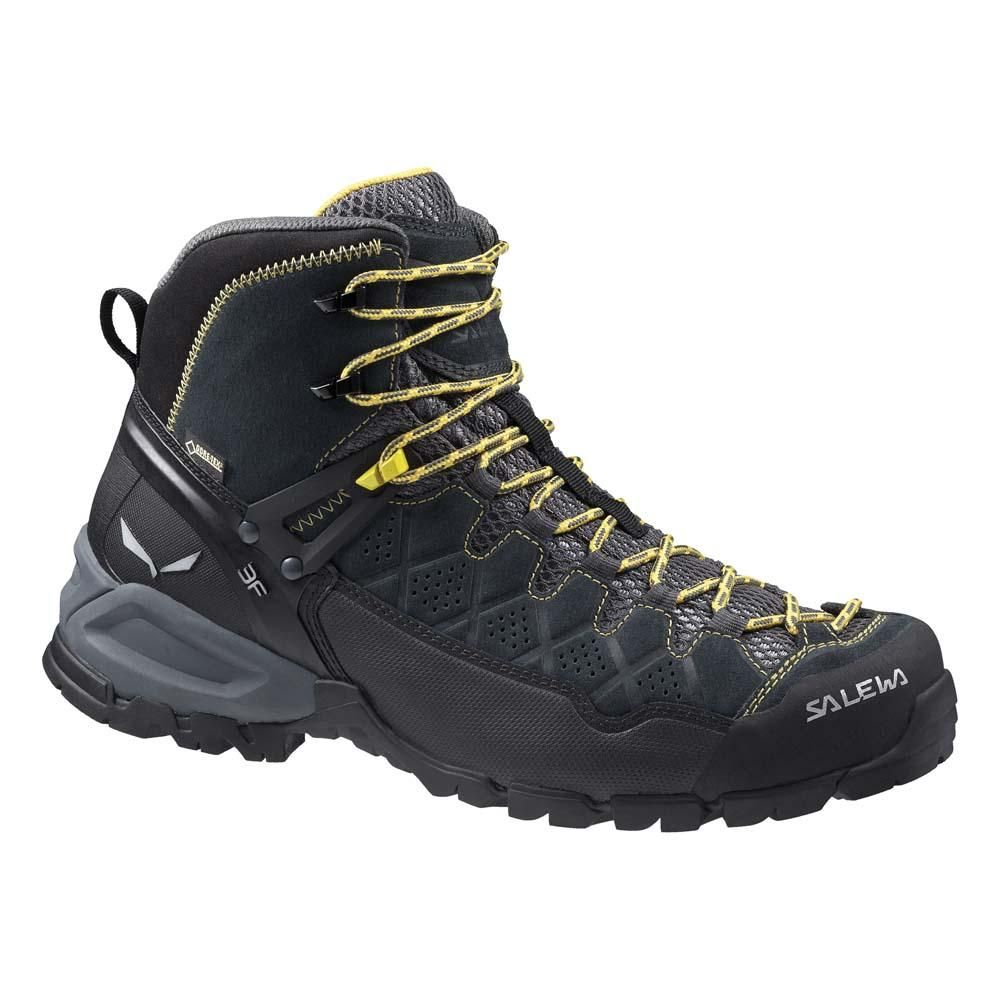 Salewa Men's MS ALP Flow Mid GTX Hiking Shoe, Basilico