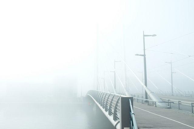 Foggy morning ● finelandia.blogspot.com