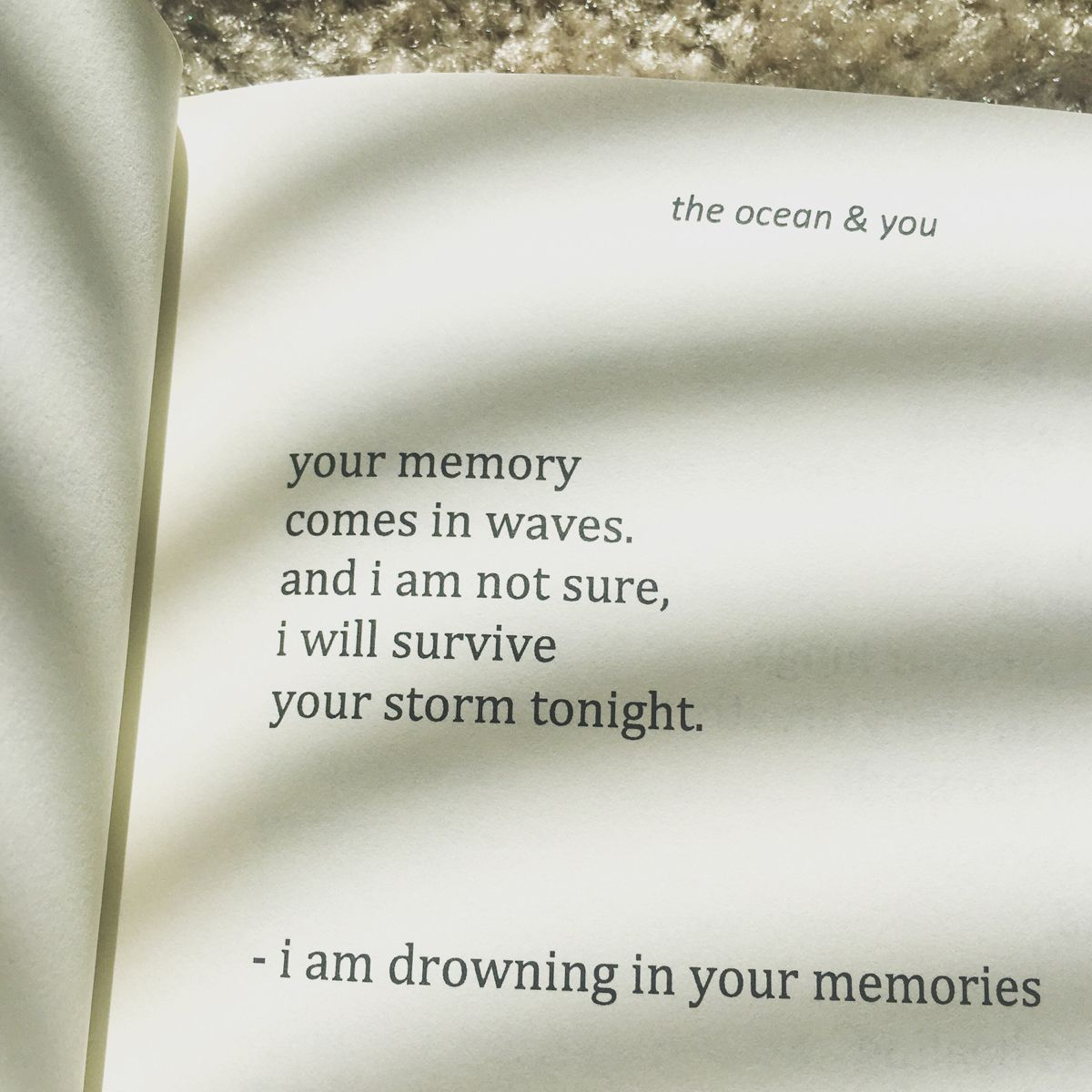 The Ocean You Is Available On Amazon Beautiful Words Words Quotes