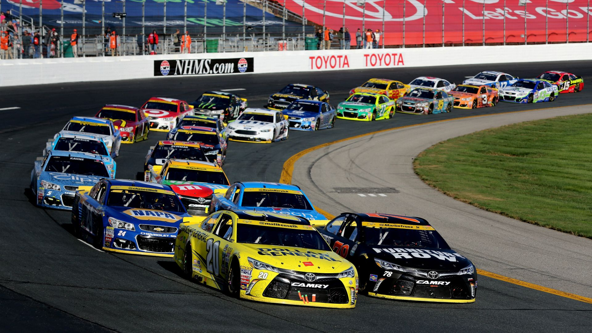 Watch all NASCAR races live by signing up on our site with