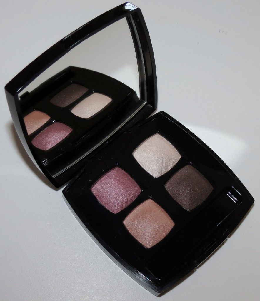 Chanel 42 SEDUCTION Les 4 Ombres Quadra Eye Shadow Swatches, Review