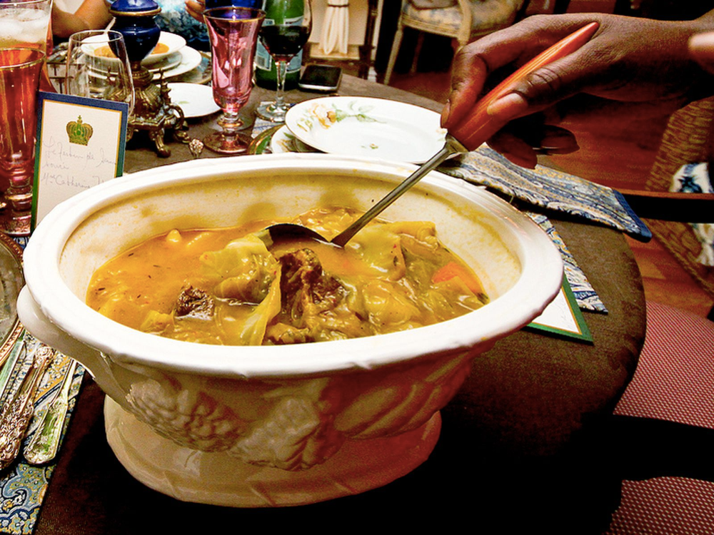 haitian pumpkinbeef soup soup joumou in 2020  haitian