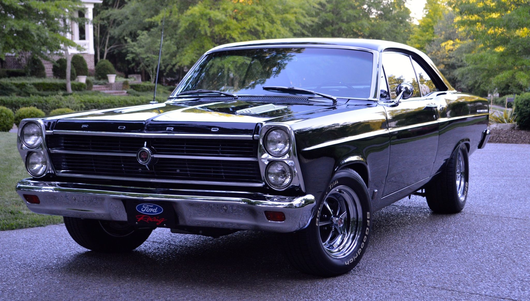 This 1966 Ford Fairlane GT is a modified example with a factory ...