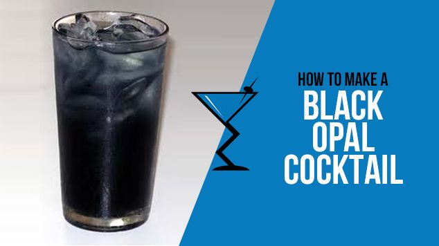 Black Opal Cocktail Recipe Drink Lab Cocktail Drink Recipes Recipe Cocktails Cocktail Drinks Strong Alcoholic Drinks