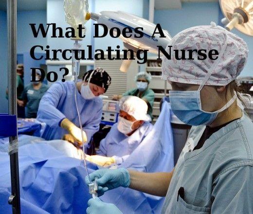 Operating Room Nursing What Do Circulating Nurses Do? OR Nurse