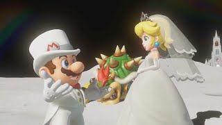 Super Mario Odyssey Part 11 Moon Kingdom Final Boss Ending