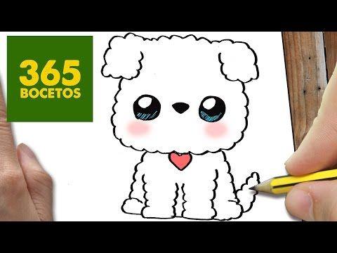 Como Dibujar Perro Whatsapp Kawaii Paso A Paso Dibujos Kawaii
