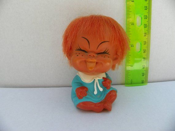 "1979 HAPPY ROOTIE BABY NEW 3/"" MOODY CUTIES Troll Doll MADE IN HONG KONG"