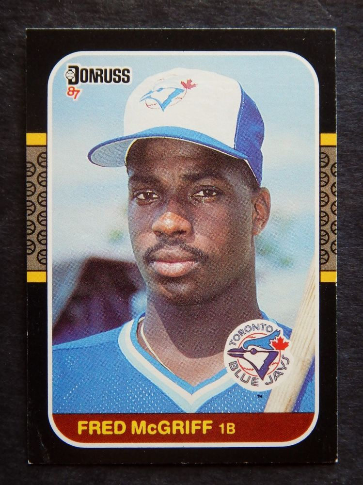 fred mcgriff 198687 621 baseball card (blue jays) from