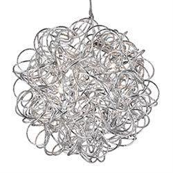 Tangled Ribbon Chandelier 5 Light