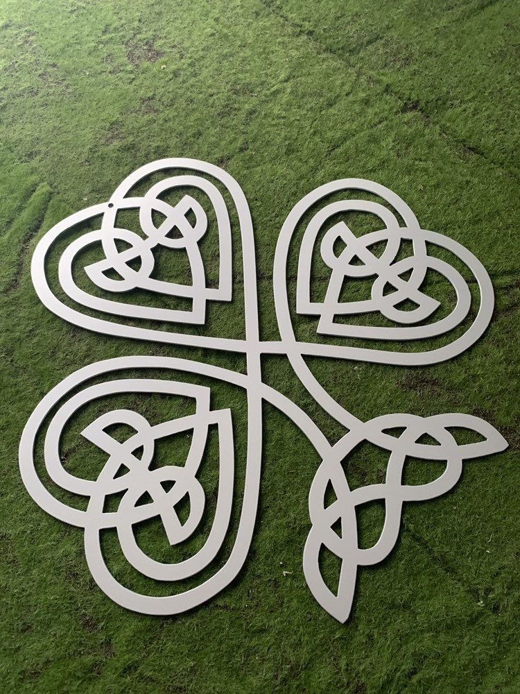 Celtic knot clover shamrock ireland holy trinity irish
