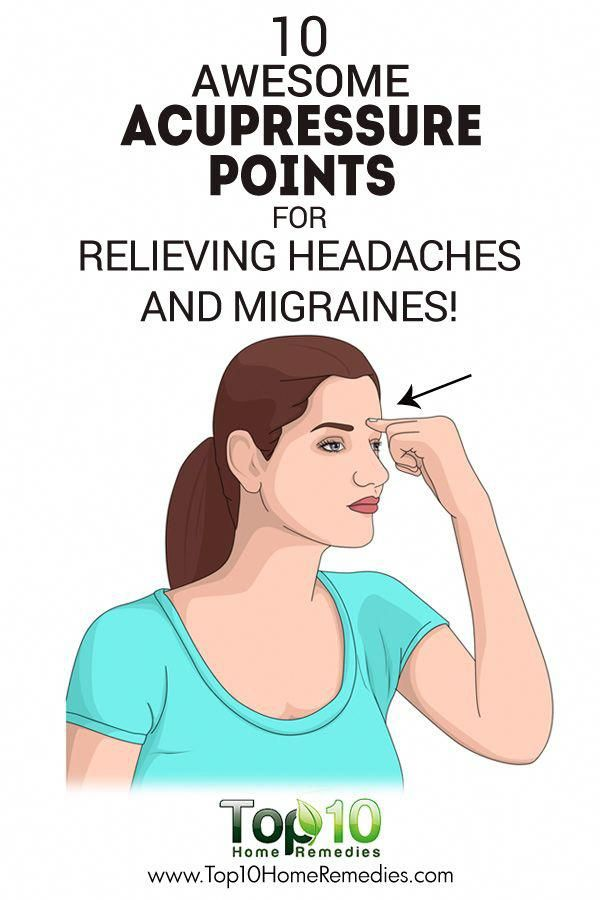 10 Awesome Acupressure Points for Relieving Headaches and ...