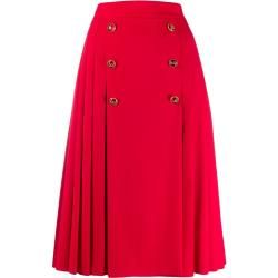 Dolce & Gabbana Ausgestellter Midirock - Rot Dolce & GabbanaDolce & Gabbana