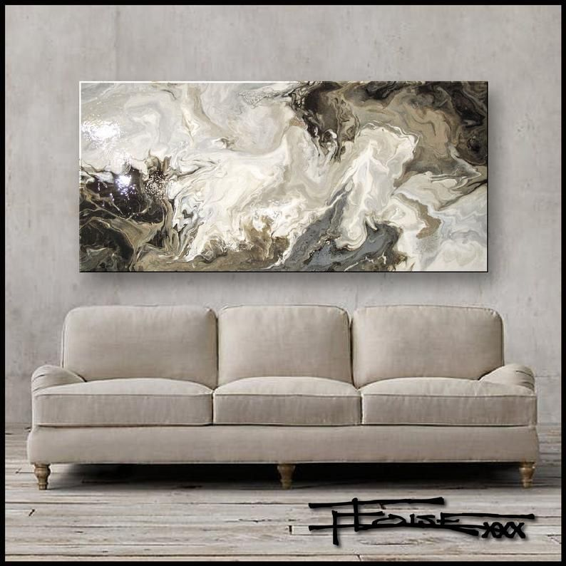 original resin painting on wood extra large modern wall on large wall art id=20940