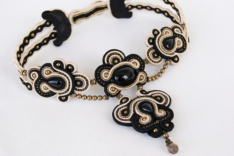 Soutache Necklace | Flickr - Photo Sharing!
