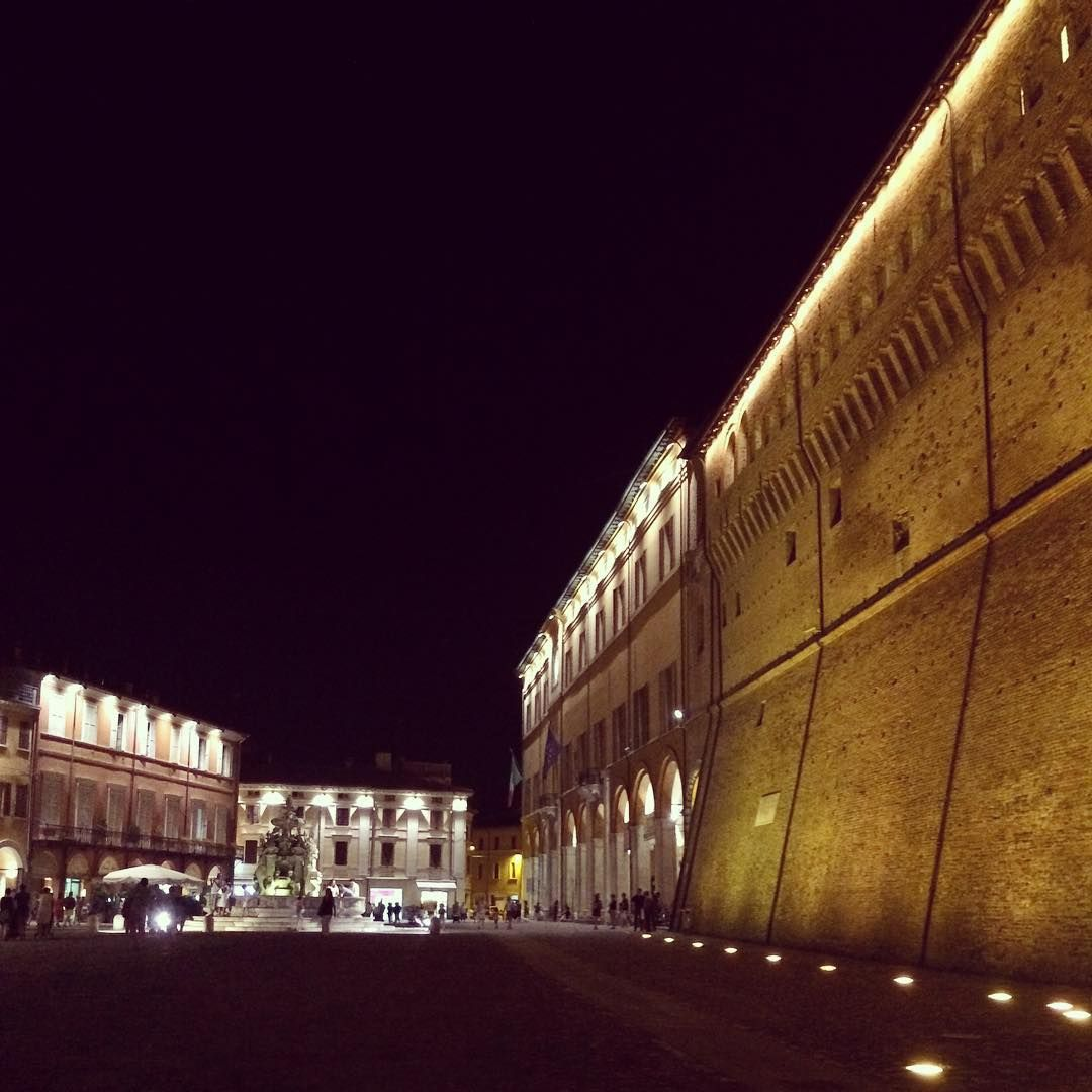 Cesena by night - Instagram by mirrifilippo