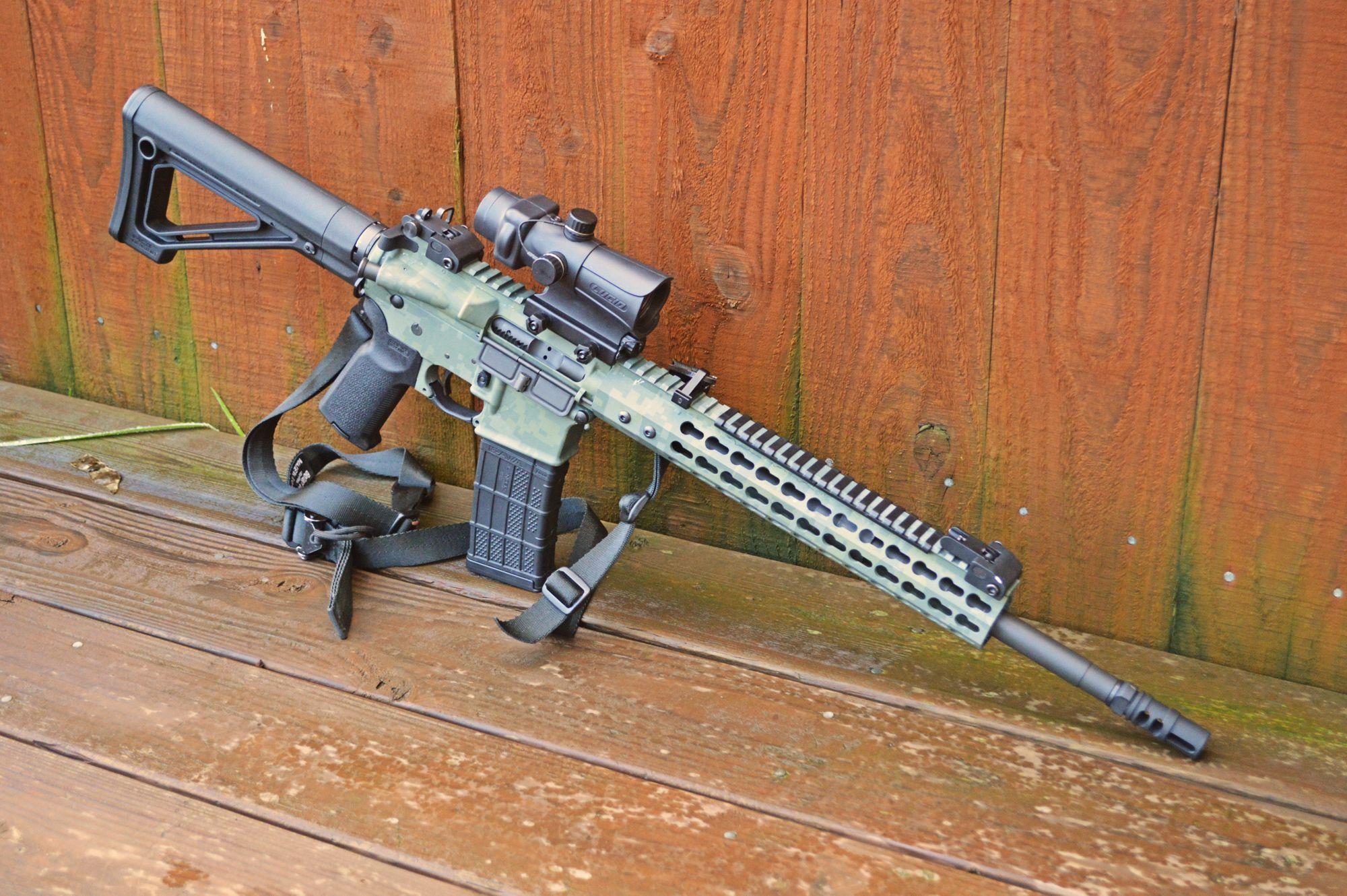 Rock River Arms/80% AR-15 Green Digital Camo | AR15\'s | Pinterest ...