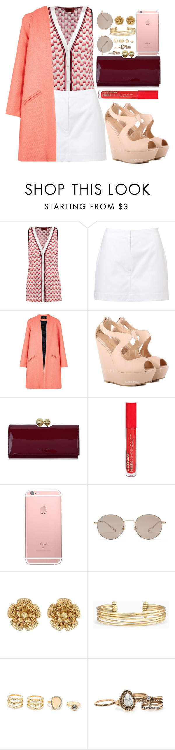 """""""."""" by fashionista-sweets ❤ liked on Polyvore featuring Missoni, Alaïa, Paper London, Ted Baker, L.A. Colors, Gucci, Miriam Haskell, Stella & Dot and LULUS"""