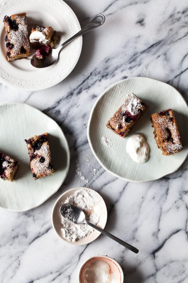 Berry and Hazelnut Cakes   Photography and Styling by Sanda Vuckovic   Little Upside Down Cake